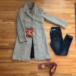 Merona mid-length Gray dress jacket